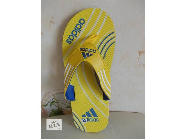 продам вьетнамки reebok nike adidas сандали желтые с синим арт 1114 бу в Полтаве
