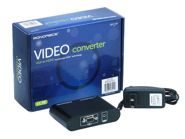 бу VGA в HDMI  конвертер LKV350 в Киеве