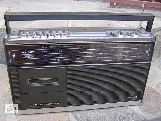 продам VINTAGE Магнитола Philips RR-527 1974 г. бу в Каменец-Подольском