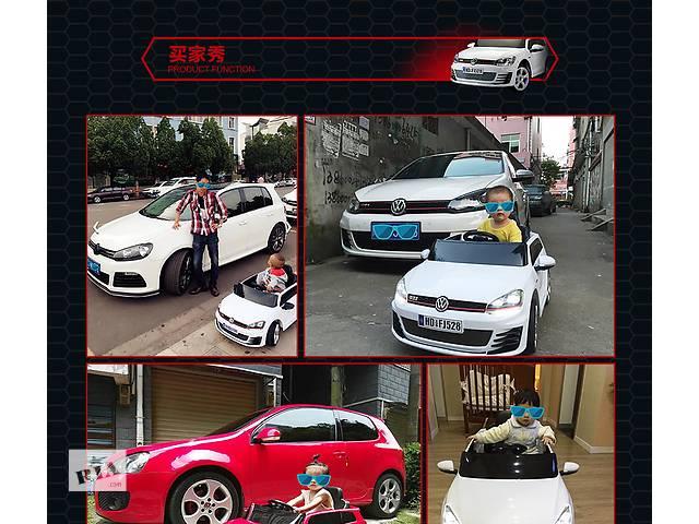 продам VIP Volkswagen 528 Golf GT Детский электромобиль  кож.сиденье , пульт 2.4  бу в Днепре (Днепропетровск)
