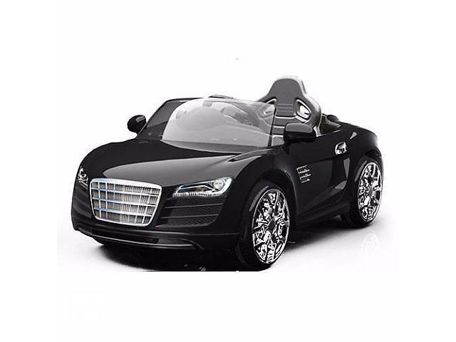 VIP! Детский электромобиль AUDI R8 KD100: 2x, 12V, 7 км/ч, пульт, MP3, BLACK- объявление о продаже  в Одессе