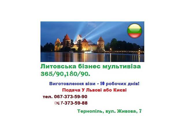 бу Візи в Литву з Гарантією! в Тернополе
