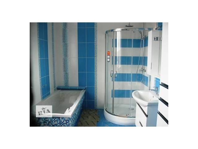 купить бу Укладка плитки, вагонки и др. в ванной комнате, кухне, балконе в Тернополе