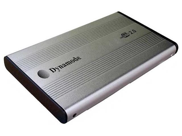 продам Внешний карман для HDD 2.5 Dynamode USB-HD2.5S silver бу в Покровске (Красноармейске)