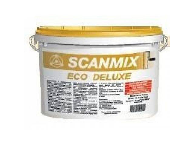 бу Водоэмульсионная акриловая краска Scanmix ECO DELUXE 10л в Житомире
