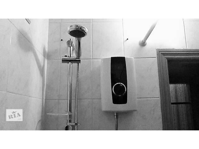 водонагреватель проточный электрический с душем новый ТРИТОН привезен из Лондона коасивый и практичный нагрев до 42°- объявление о продаже  в Киеве