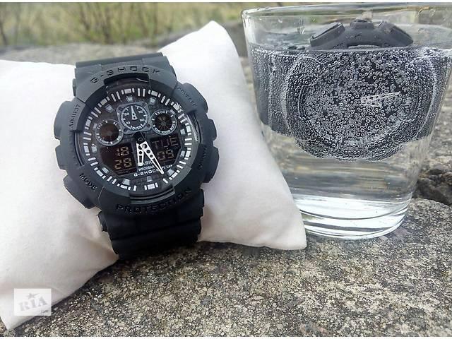 Водонепроницаемые спортивные часы Casio G-SHOCK GA-100- объявление о продаже  в Киеве