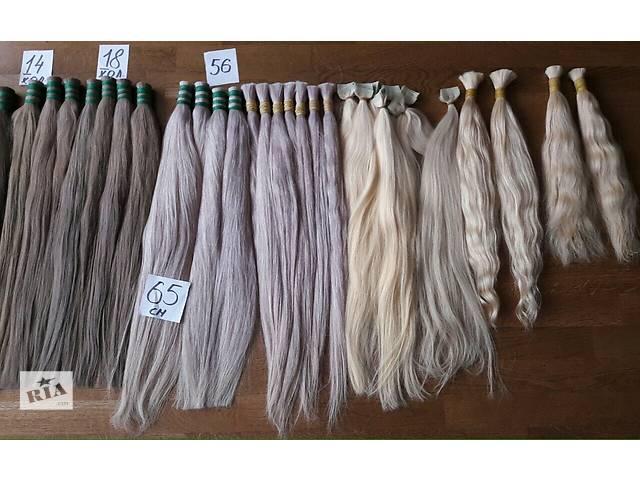 Волосы натуральные- объявление о продаже   в Украине