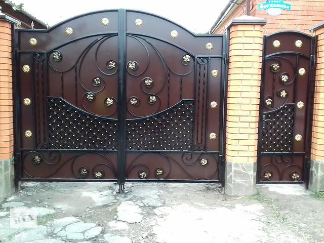 продам Ворота двери навесы заборы. бу в Днепропетровской области