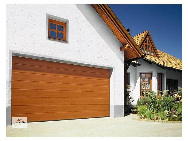 продам Ворота гаражные секционные 3000х2500 бу в Стрые