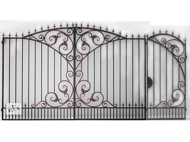 купить бу Ворота кованые с калиткой в Харькове