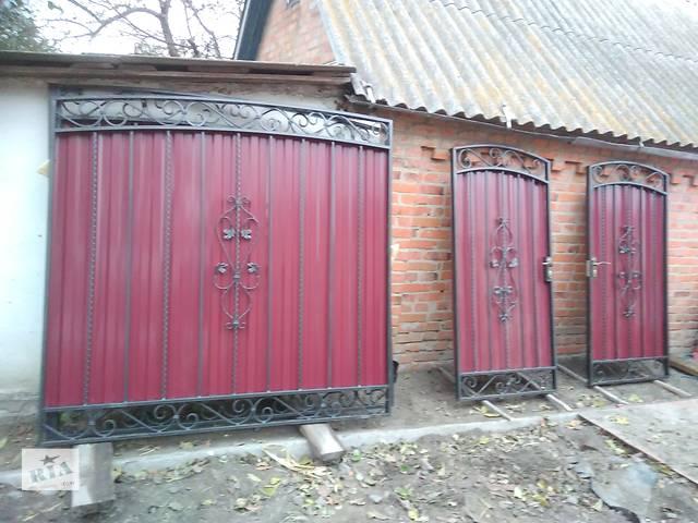 Ворота распашные- объявление о продаже  в Фастове