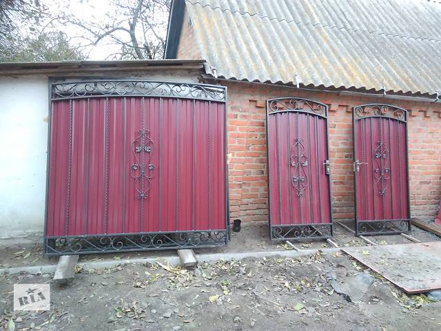 бу Ворота распашные в Фастове