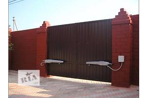 ворота въездные гаражные автоматические