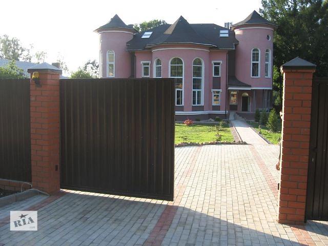 бу Ворота відкатні в Львове