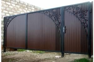 Новые Ворота и заборы