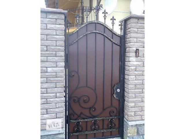 бу Ворота та паркани Калитки кованые металлические в Виннице