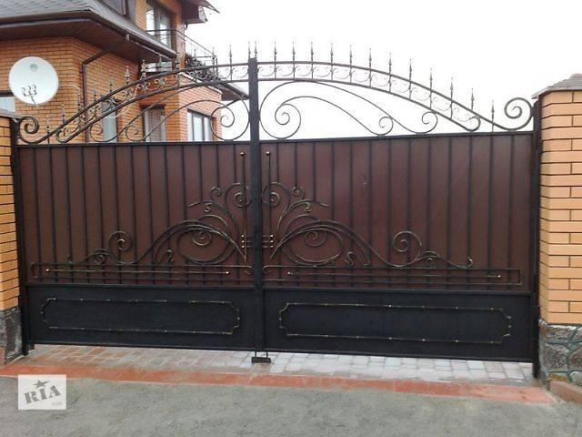 бу Ворота та паркани Ковані ворота в Виннице