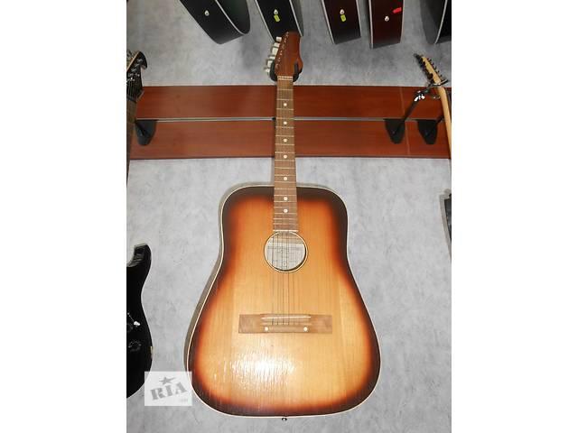 бу ( 0206 )  Восхитительная акустическая гитара и ее Видео Обзор польского производства в Чернигове