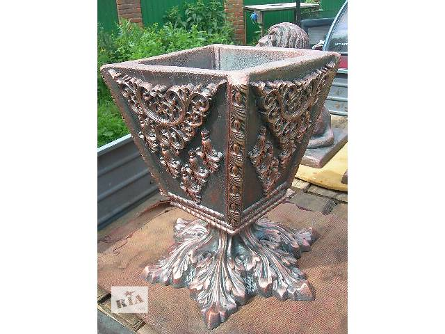 бу Все для растений Декоративные горшки новый Ваза уличная из бетона в Виннице