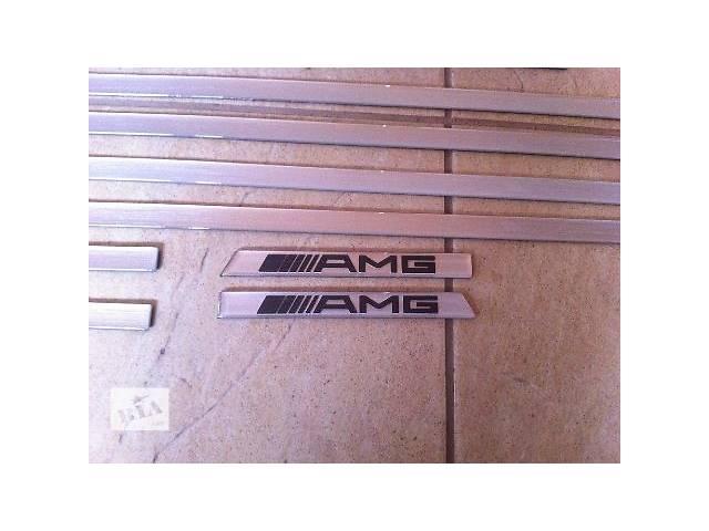 Вставки в молдинги AMG Mercedes G-class W463- объявление о продаже  в Луцке