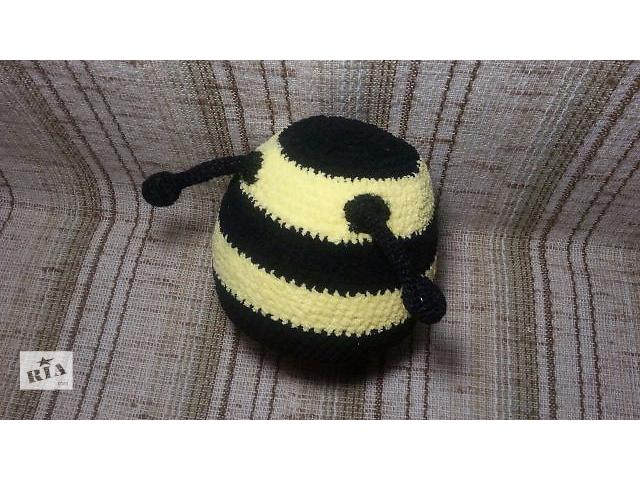 """продам Вязаная шапка """"Пчела"""" бу в Одессе"""