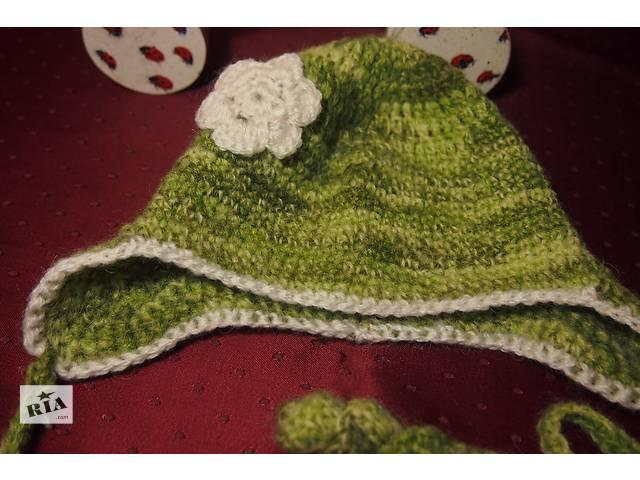 купить бу Вязаная шапочка для малышей в Киеве