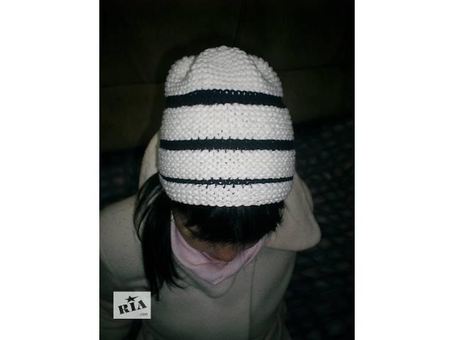 Вязанная шапка- объявление о продаже  в Харькове