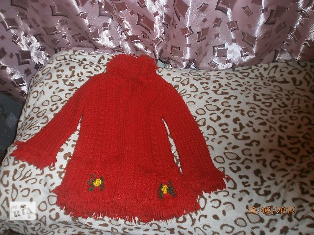Вязанное пальтишко- объявление о продаже  в Полтаве