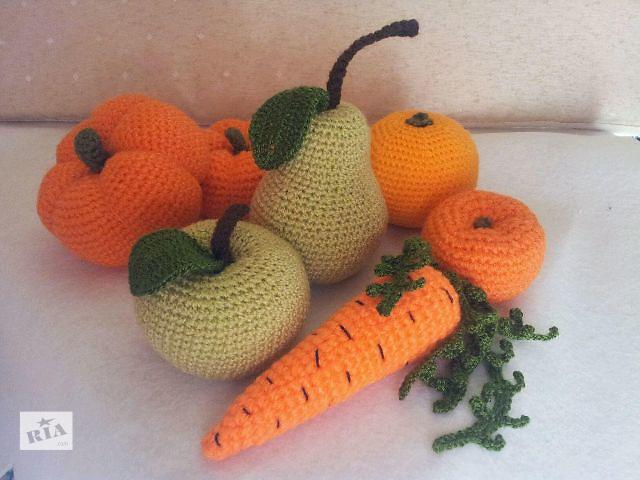 продам Вязанные овощи и фрукты бу в Харькове