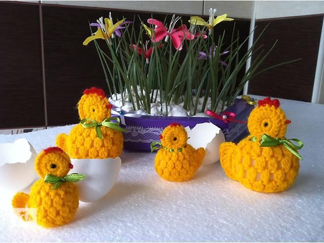 продам Вязанные Цыплята - символ года Петуха бу в Кривом Роге