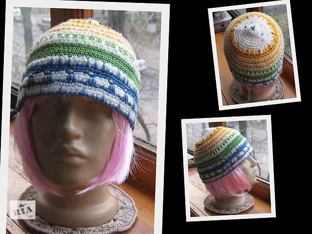 продам вязаные шапки бу в Киеве