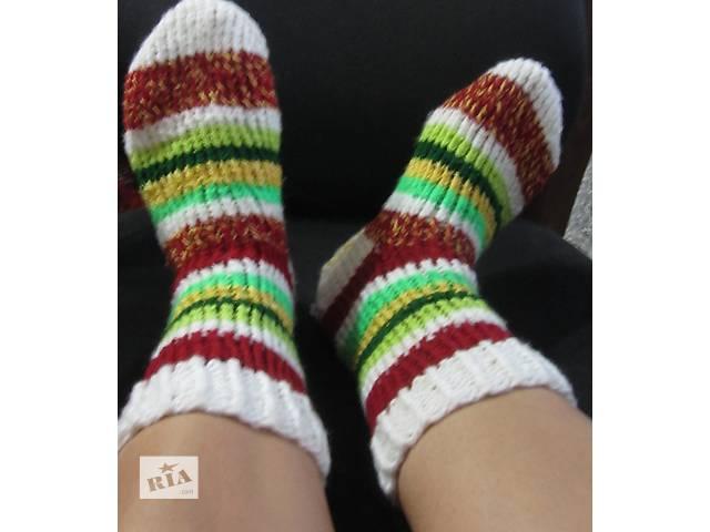 вязаные теплые  носки- объявление о продаже  в Черкассах