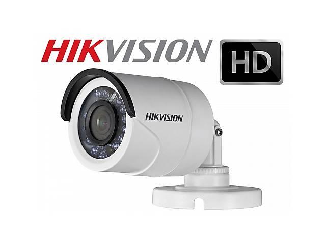 купить бу Видеокамера Hikvision DS-2CE16C0T-IR (3.6mm) в Хмельницком