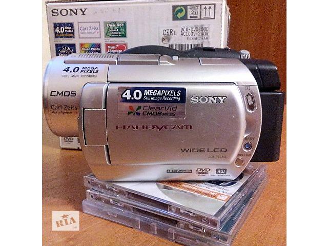 бу Видеокамера Sony DCR-DVD408, рабочая, продам, б/у. в Киеве