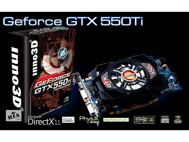бу  Видеокарта Inno3D GTX550Ti 1 GB 192 Bit в Одессе