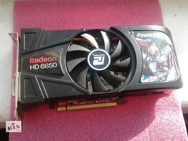Видеокарта PowerColor Radeon HD 6850 , 1Gb , DDR5 , 256Bit- объявление о продаже  в Чернигове