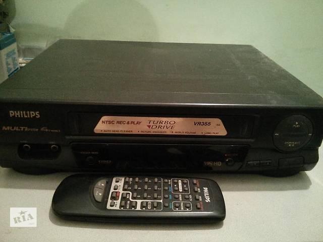 продам Видеомагнитофон Philips VR-355 бу в Киеве