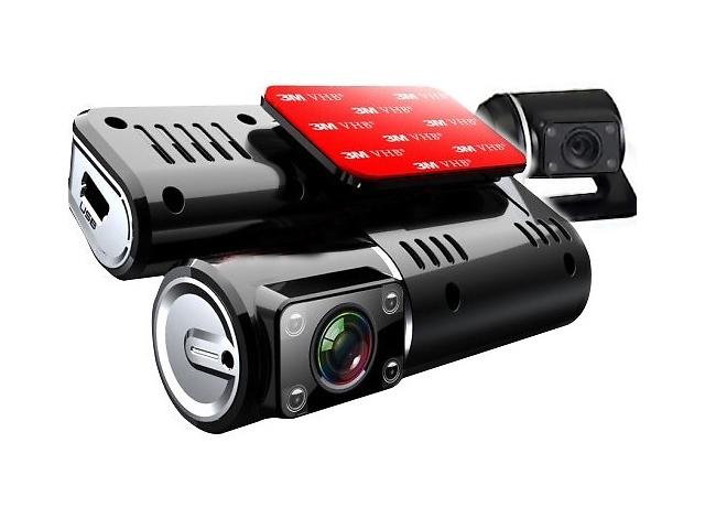 продам Видеорегистратор I1000,FULLHD,G-сенс,2 камеры,ДУ! бу в Луцке