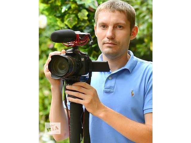 Видеосъемка свадеб- объявление о продаже  в Виннице
