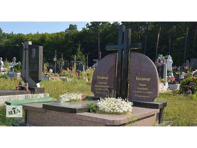 купить бу Изготовление гранитных памятников.  в Украине