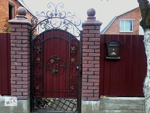 Изготовление кованых ворот,балконов,перил,и др.- объявление о продаже  в Хмельницком