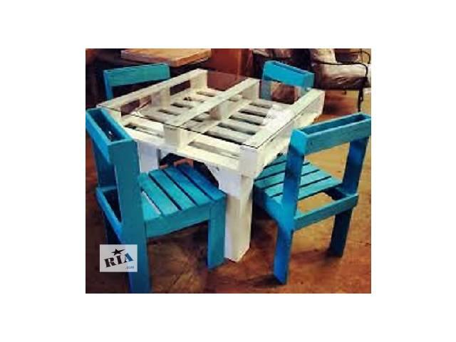 купить бу Изготовление мебели из паллетов на заказ в Львове