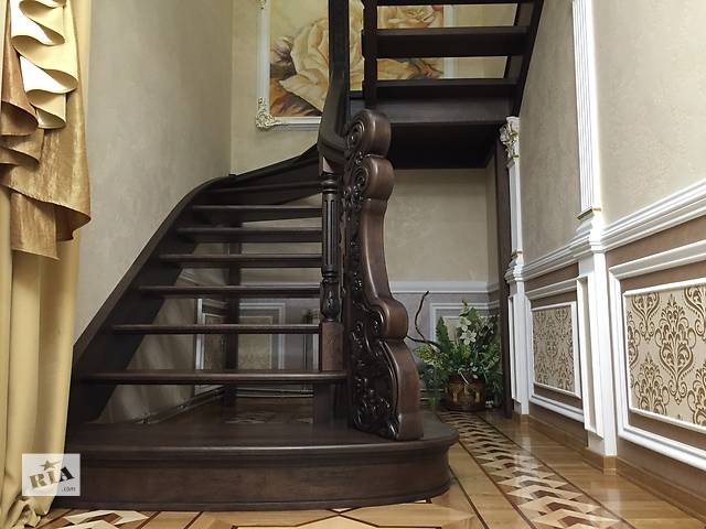 Изготовление и установка лестниц, комплектующие к лестницам под заказ- объявление о продаже  в Ивано-Франковске