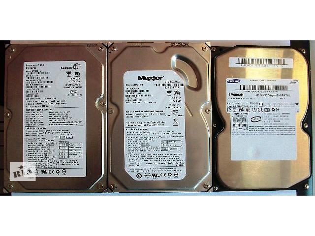 продам Винчестеры HDD Maxtor, Seagate, Samsung (80Gb, 40Gb, ATA) бу в Глухове