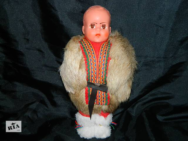 Винтажная Кукла в шубке- объявление о продаже  в Тернополе