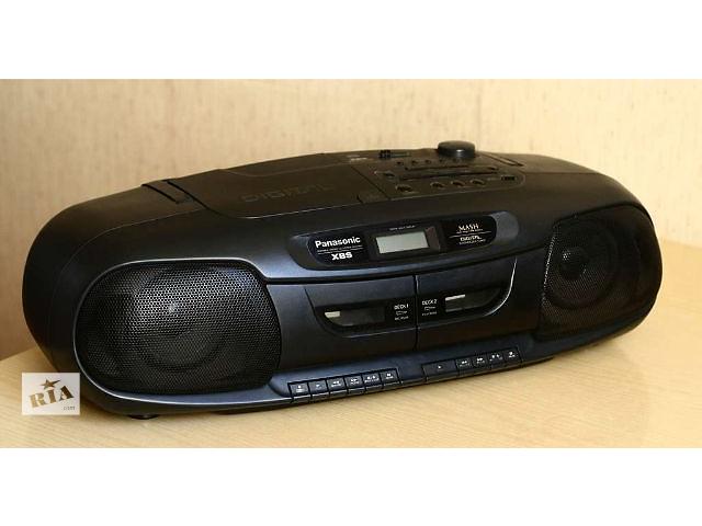 Винтажный  бумбокс Panasonic RX-DT401- объявление о продаже  в Кривом Роге (Днепропетровской обл.)