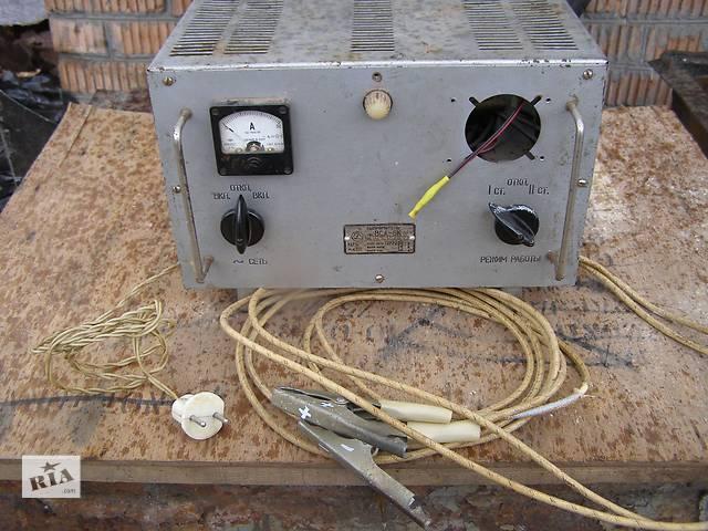 продам Выпрямительное (зарядное) устройство  ВСА-6К бу в Днепре (Днепропетровск)
