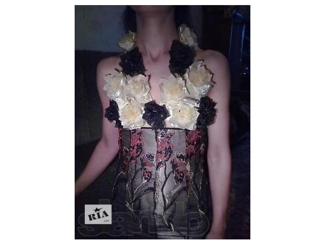 выпускное( вечернее) платье б/у- объявление о продаже  в Харькове