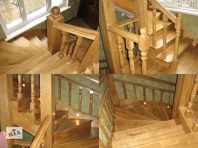 бу Вироби із дерева, сходи, підсходи, балясини, стовпи, косоури, поручень, точені вироби, балюстрада в Иршаве